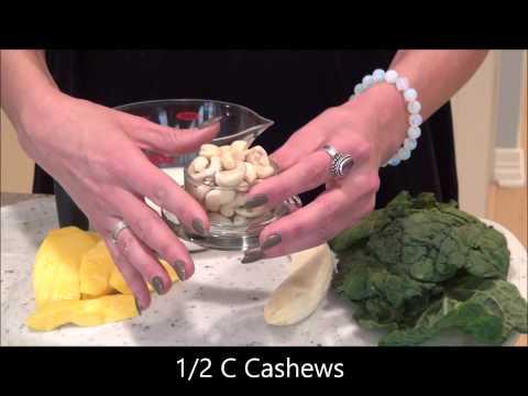 Kale Mango Smoothie Recipe