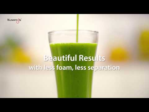 Kuvings Vacuum Blender – Green Smoothie