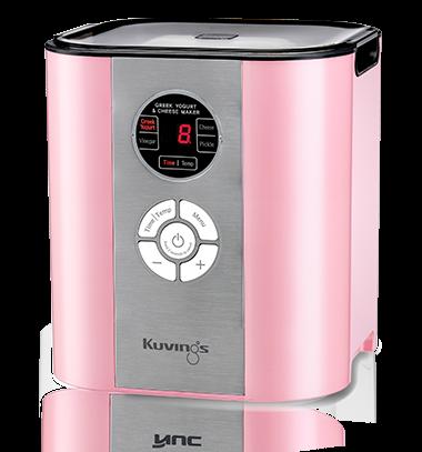 kuvings yogurt maker in pink
